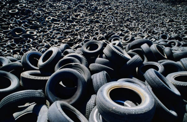 waste tyre disposal scotland