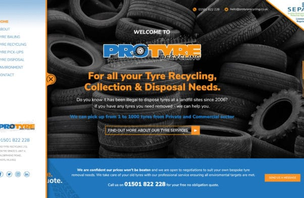 pro tyre new website