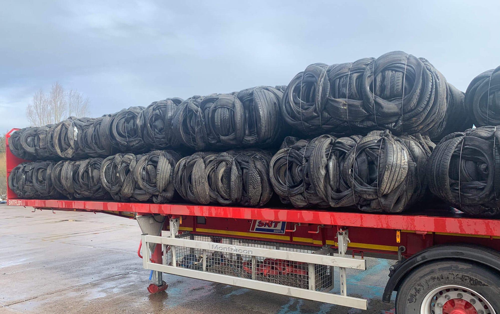 tyre baling service